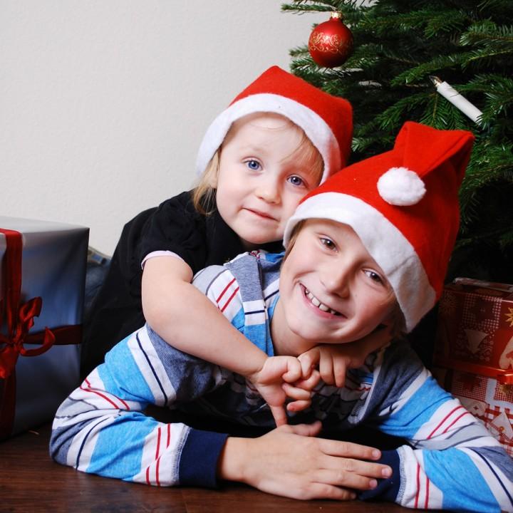 Weihnachtskinder im Lommatzscher Zimmer