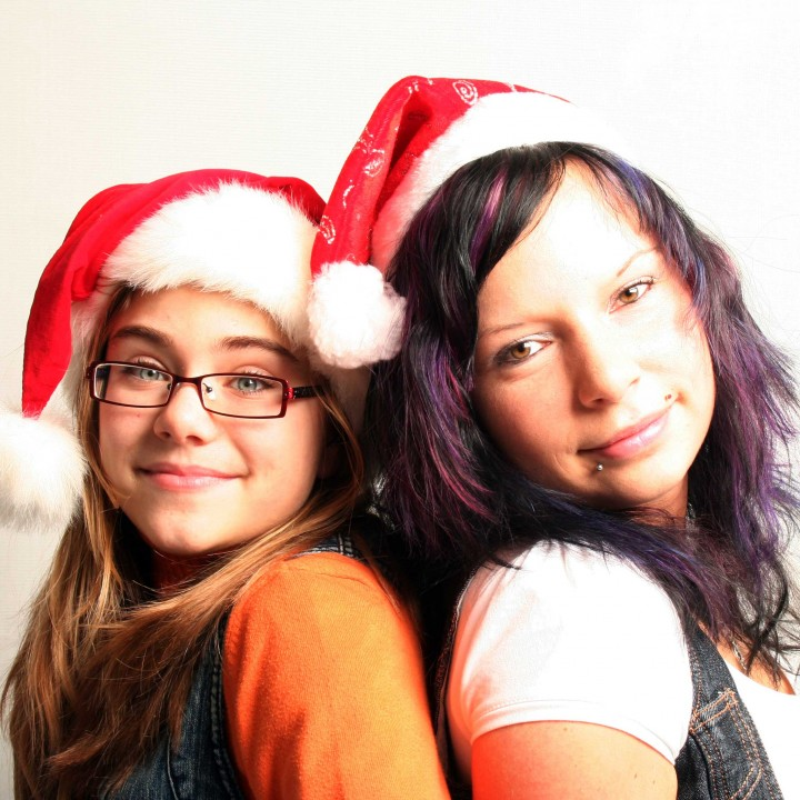 Weihnachtliches Familienfotoshooting in Lommatzsch