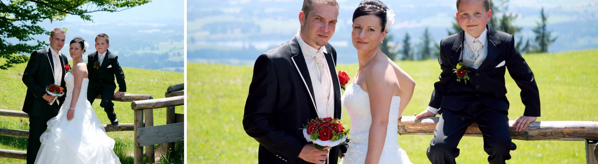 Eine ganz besondere Hochzeit, nicht nur für's Brautpaar