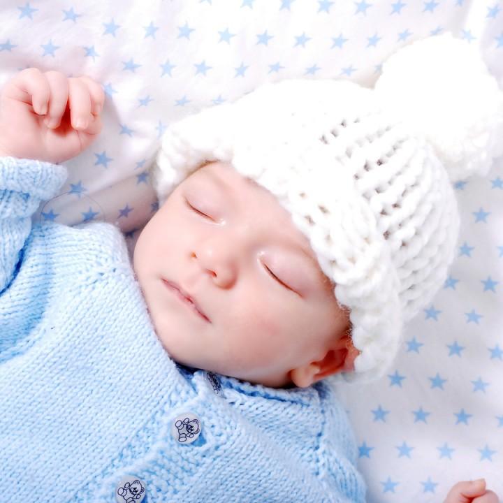 Newborn-Shooting mit vier Wochen