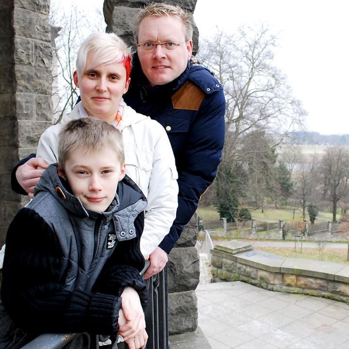 Familienshooting in Dresden