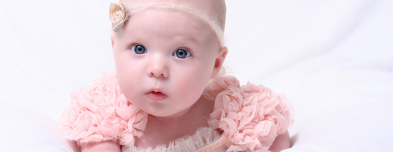 Baby-Shooting mit drei Monaten