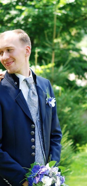 Sommer-Hochzeit in Türkis