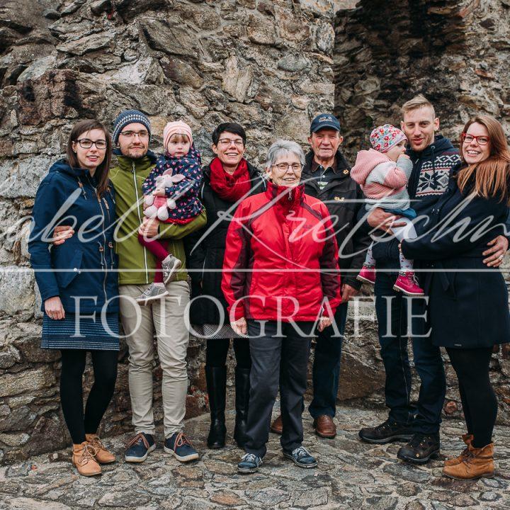 Familienshooting Schloss Lauenstein